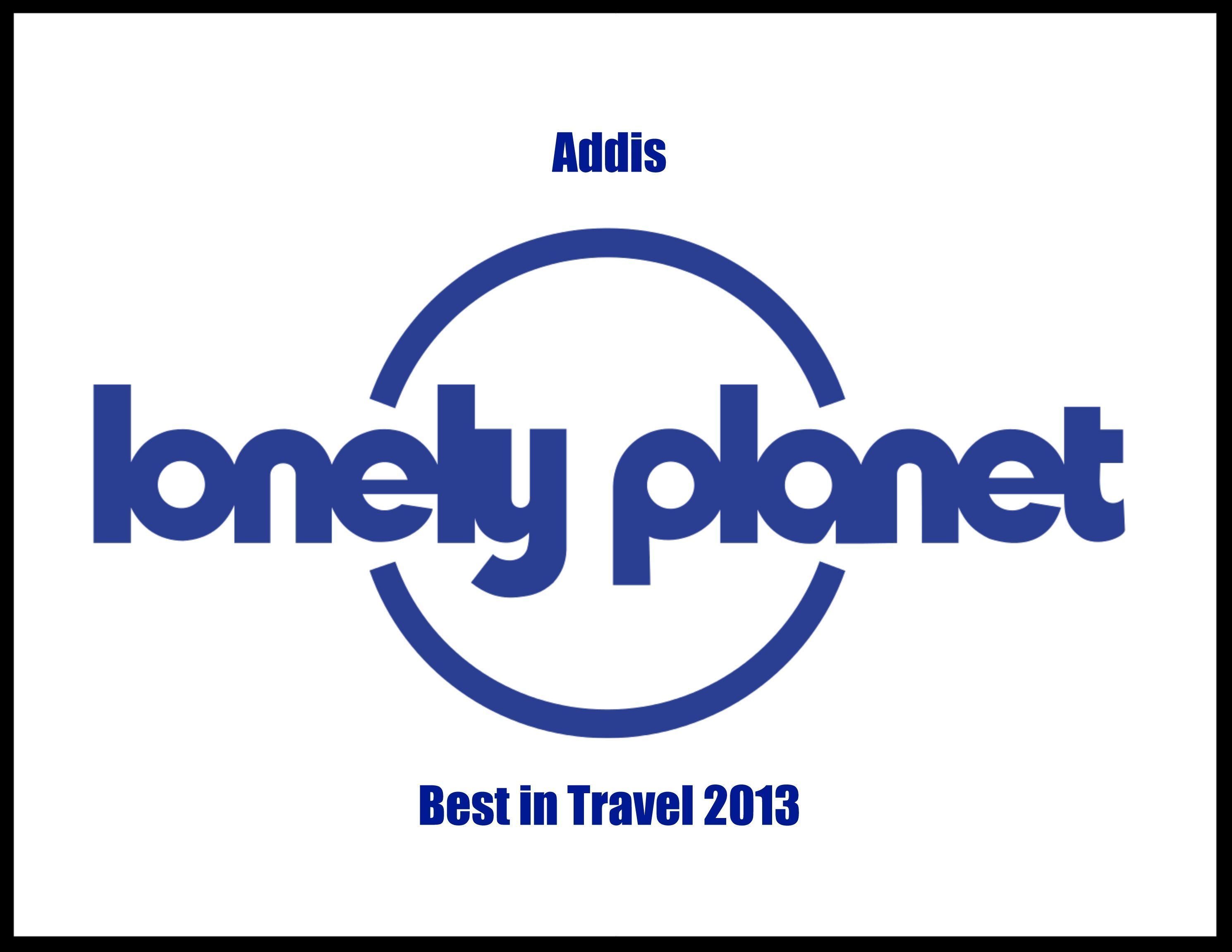 Lonely Planet Certificate: Best in Travel Addis 2013