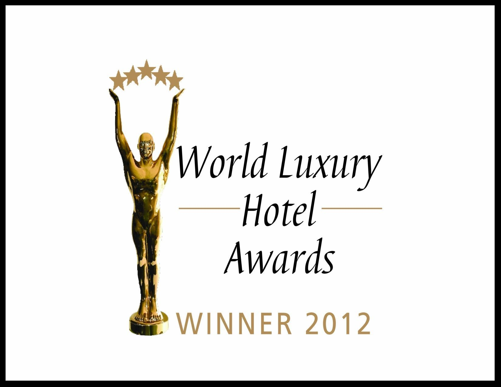 Certificate: World Luxury Hotel Awards Winner 2012